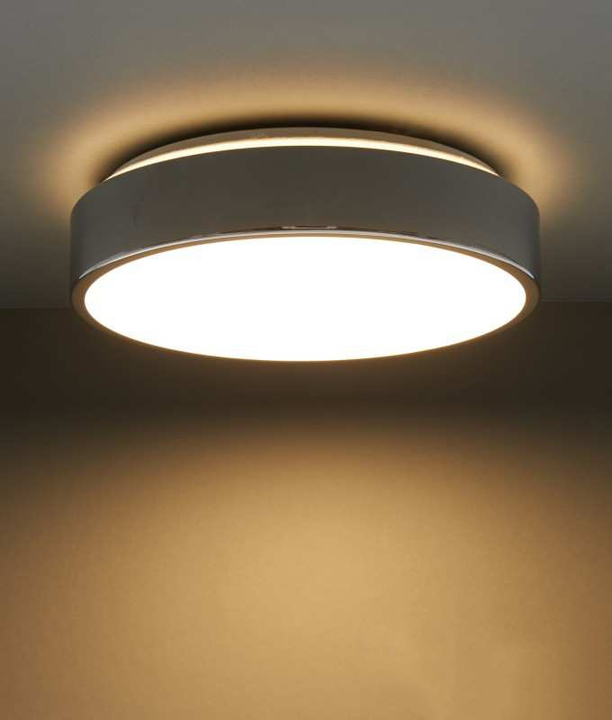 Led Round Flush Ceiling Fitting For Bathrooms