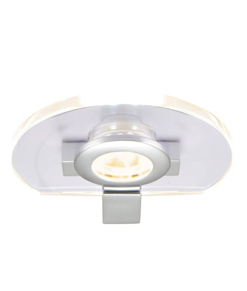 Screwfix Aether Led Round Cabinet Lights Warm White 7 5w 108mm 3 Pack 163 16 99 6074t 3 Pack