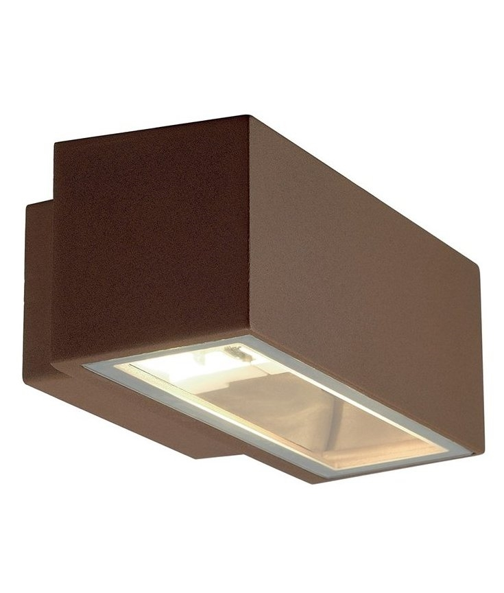 Modern Box Outdoor Wall Light With Up Amp Down Light