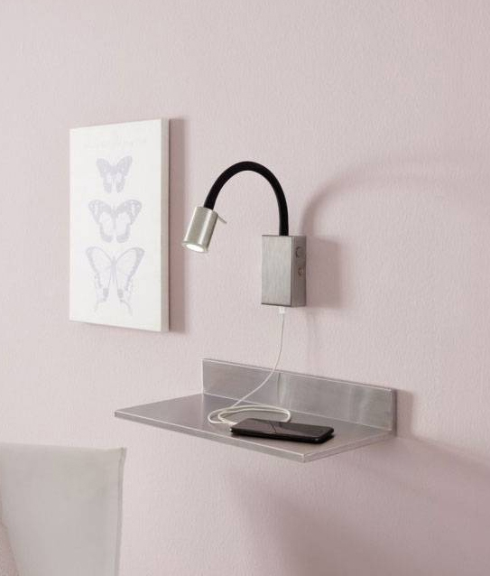Attractive Flexible Wall Light With Usb Charger