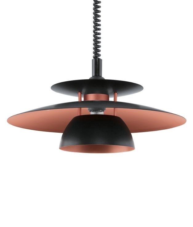 Rise fall pendant lights lighting styles rise and fall metal scandinavian pendant aloadofball Choice Image