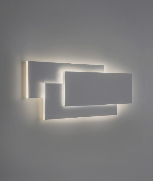 Elegant sculptural wall light horizontal or vertical installation with built in driver mozeypictures Images