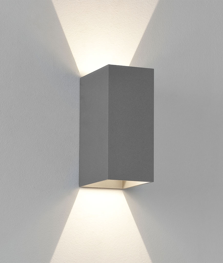 Wandstrahler Led Up Down : LED Up & Down Exterior IP65 Wall Light with crisp white light and