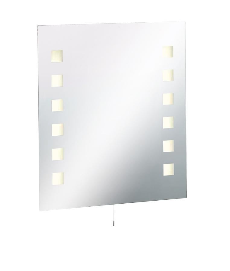 Illuminated Bathroom Mirror Height 700mm X Width 600mm