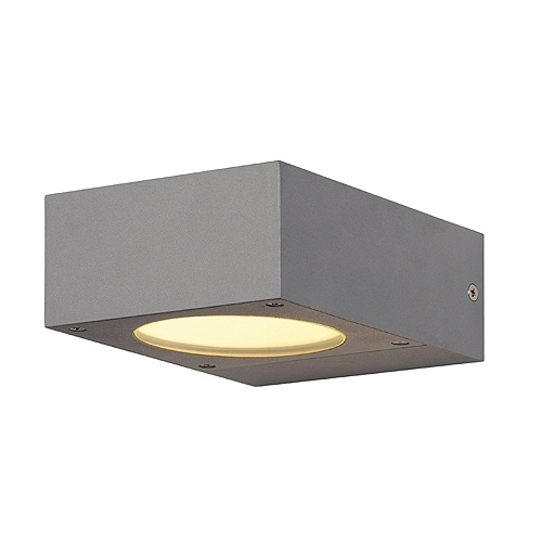 Gx53 Small Square Exterior Wall Light