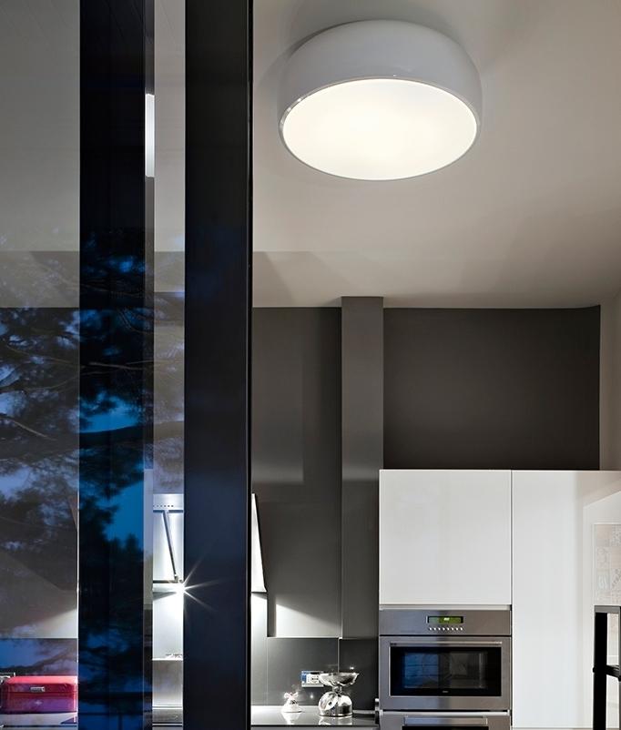 Flos Smithfield C Modern Flush Ceiling Light From Flos