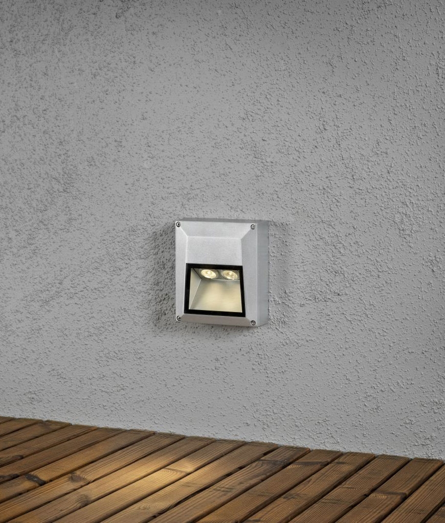 Compact High Output Surface Mounted Cast Light Round Or Square
