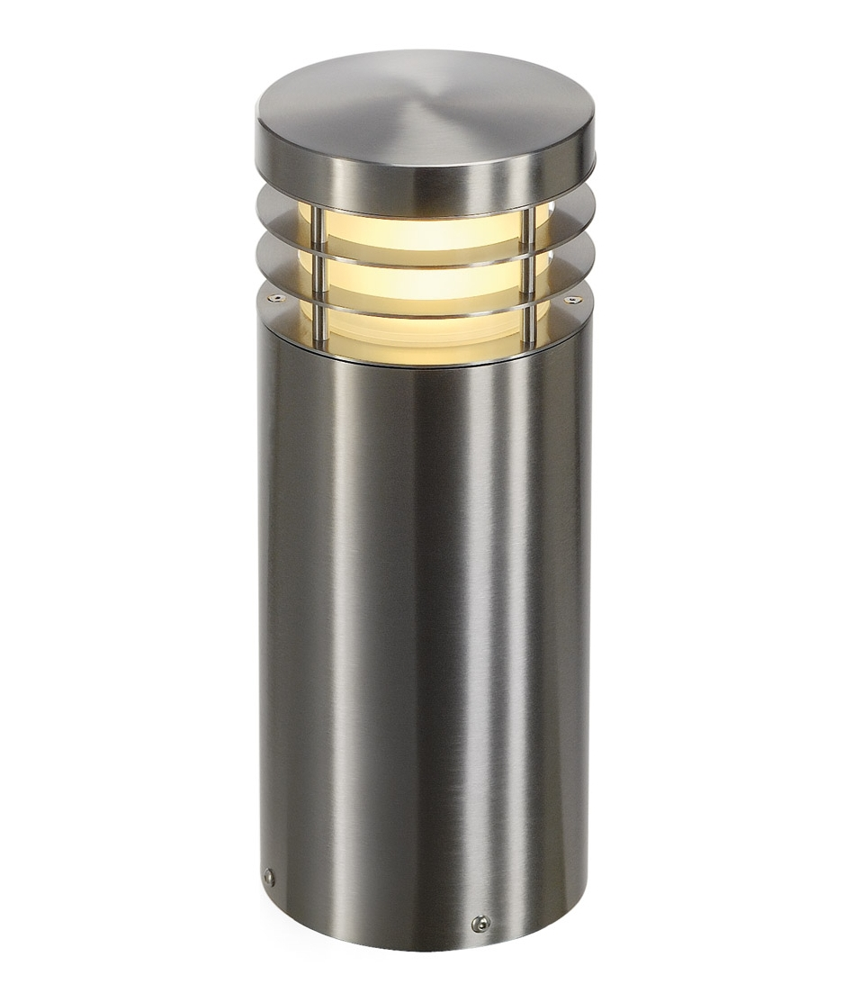 Low Level Bollard In Stainless Steel Finish