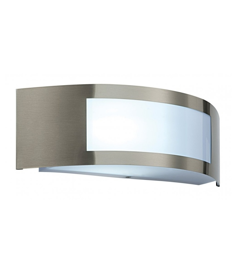 Brushed Stainless Steel Exterior Wall Light