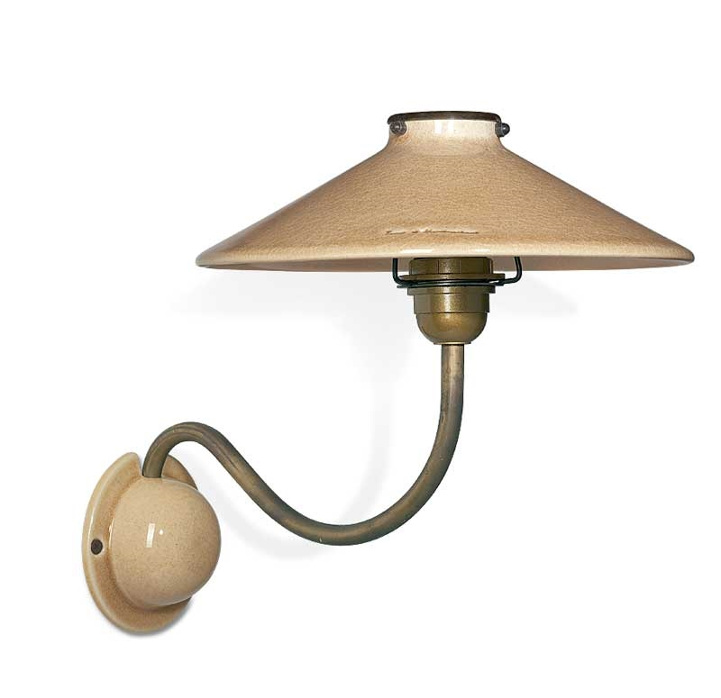 Ceramic Shaded Nicolas Wall Light