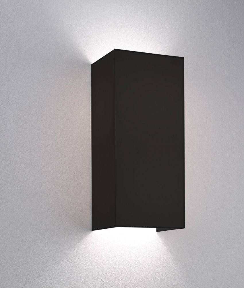 Simple Fabric Wall Light - Tall Shade - Up & Down Lighting