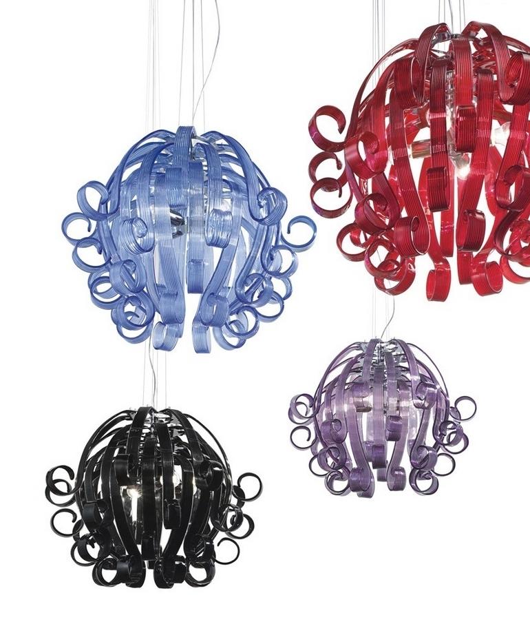 The modern medusa murano glass chandelier