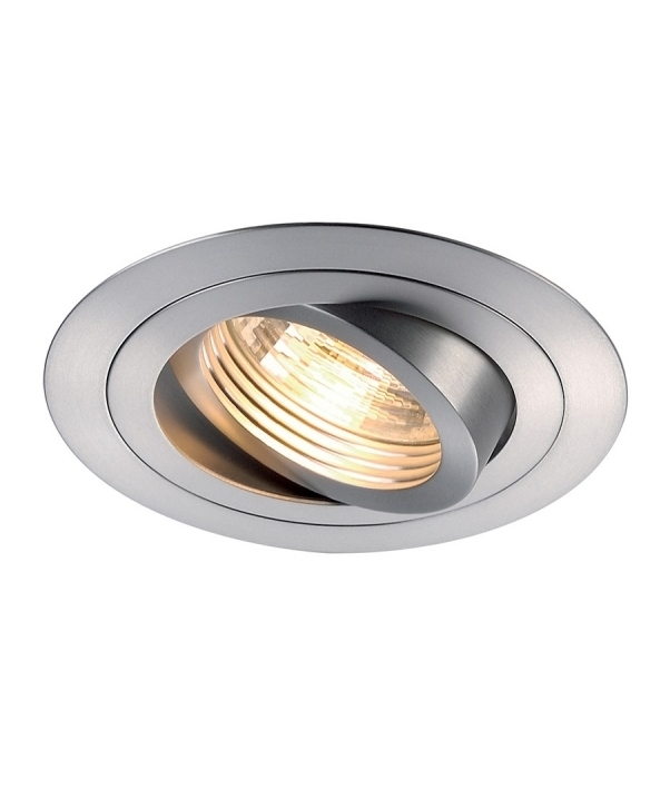 Tilt And Turn Recessed Downlight For GU10 Mains Lamps