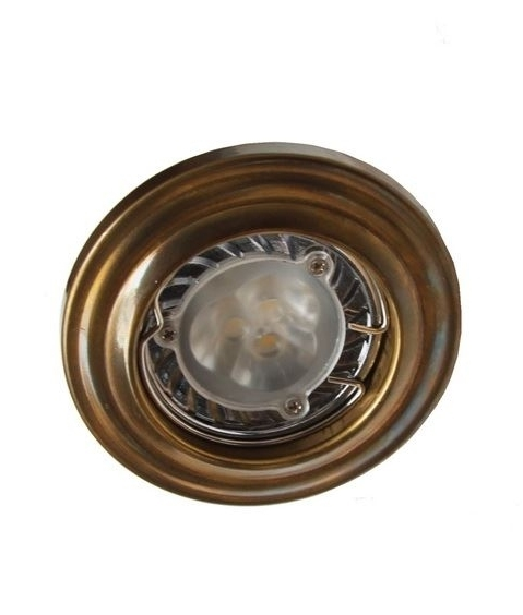 Traditional Style Round Downlight In Antique Or Polished