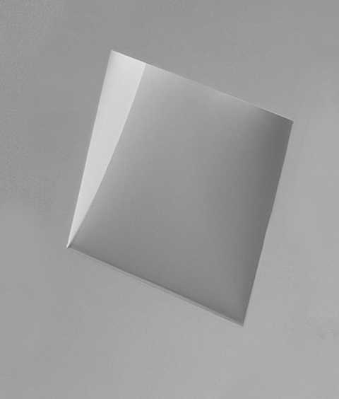 Recessed Plaster Step Light Square Insert Design