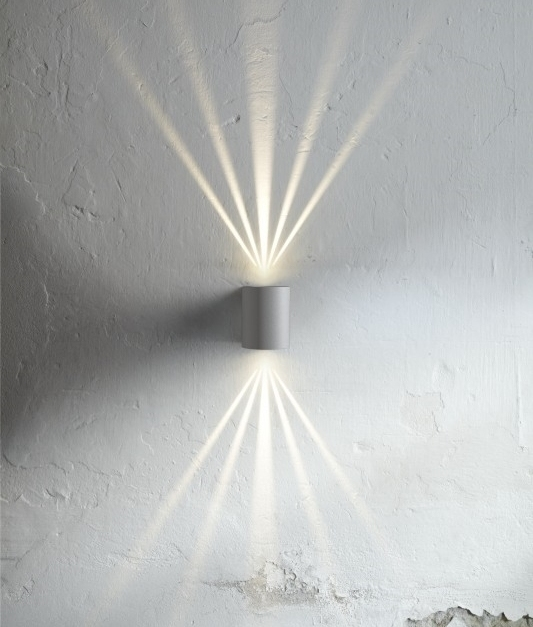 Very Funky Filtered Wall Lights In Six Finishes