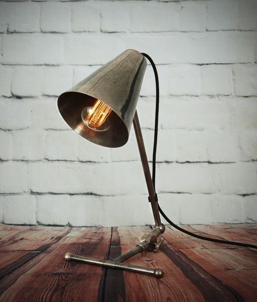 Adjustable Vintage Style Metal Desk Lamp, Metal Desk Lamps Uk