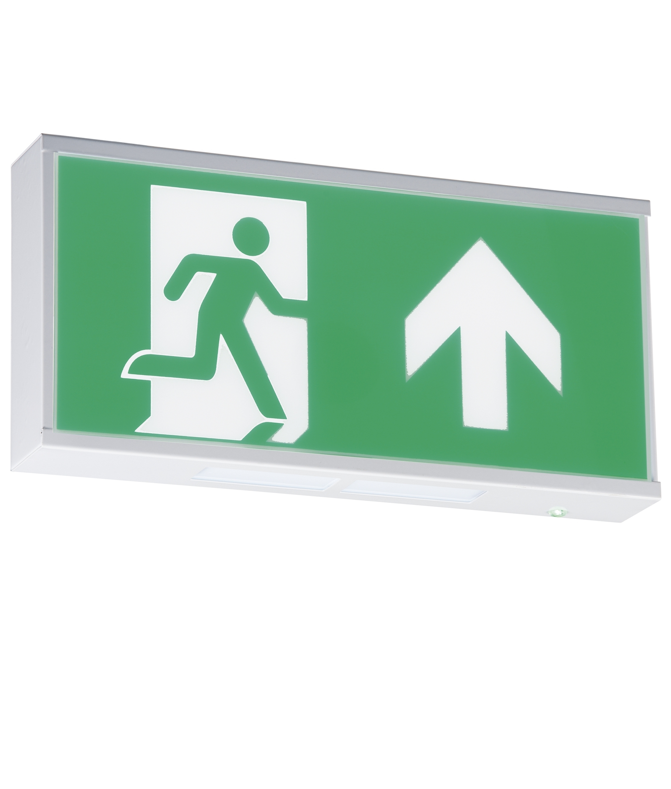 Wall Mounted Exit Lights : Illuminated Emergency Exit Sign www.imgkid.com - The Image Kid Has It!