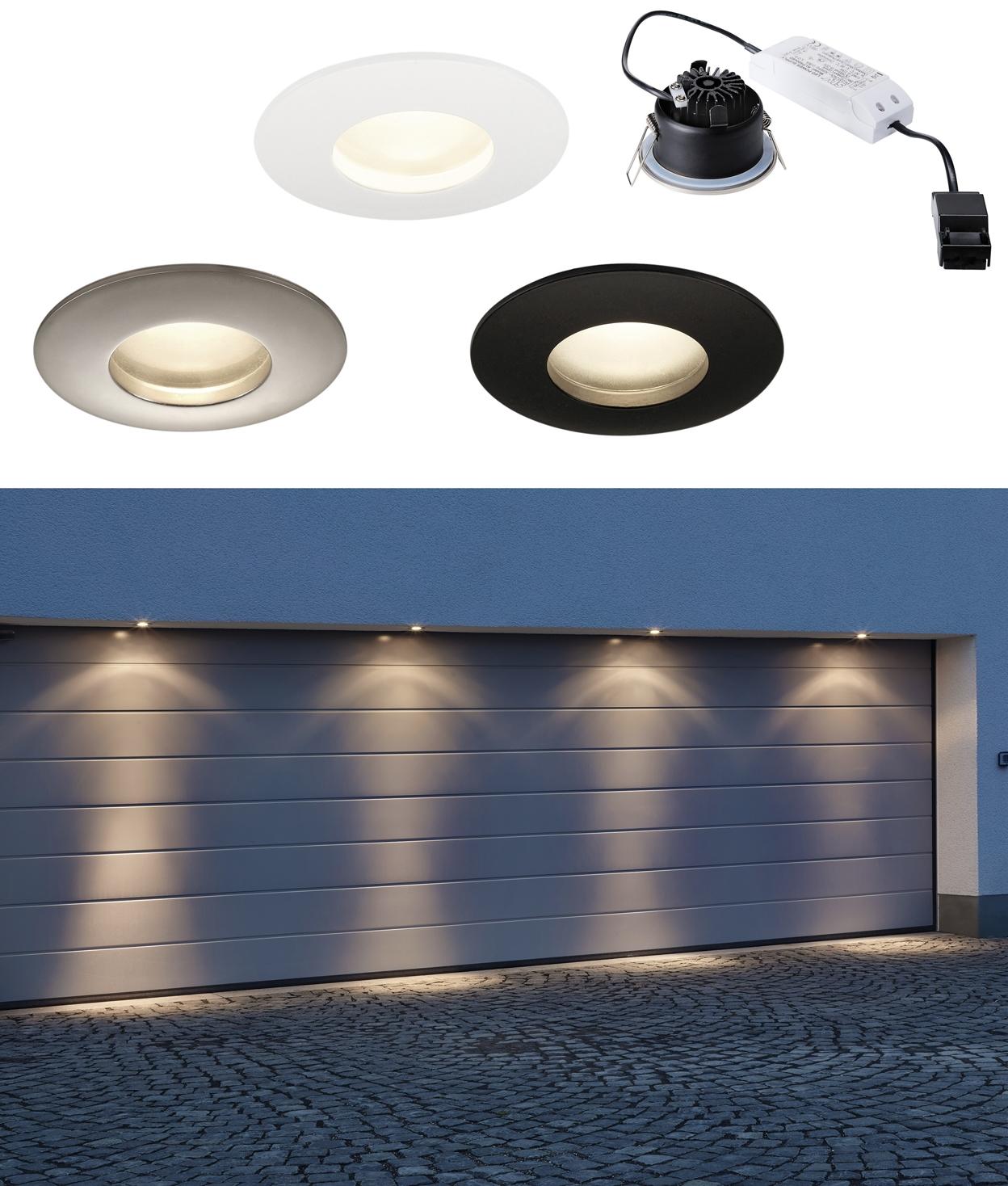 Premium Led Exterior Soffit Downlights, Outdoor Under Soffit Led Lighting