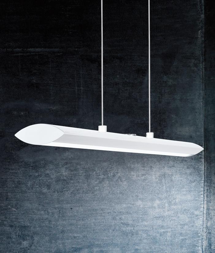 Matt White Ultra Modern Pendant Light