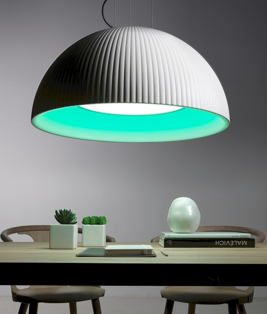 White Dome Led Colour Changing Option With Remote Amp Diffuser