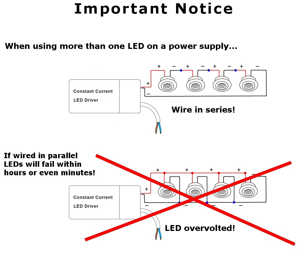 Led power supply w ma
