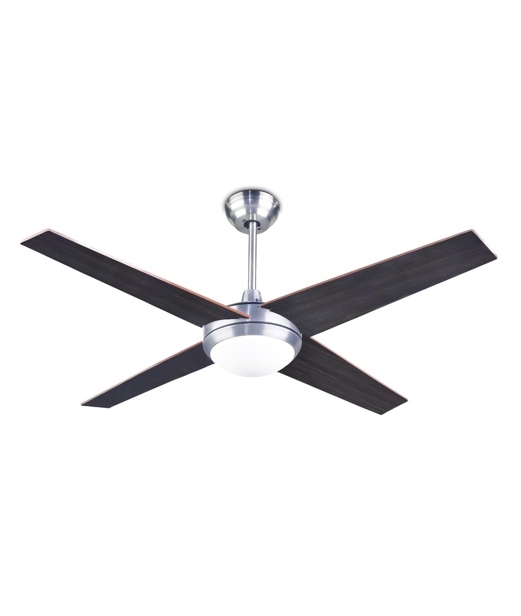 Modern And Trendy Ceiling Fan With Reversible Blades And Light