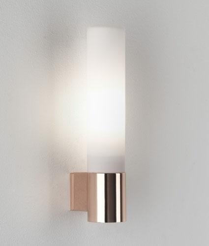Zinc Halogen Tubular Wall Mounted Bathroom Light Ip44
