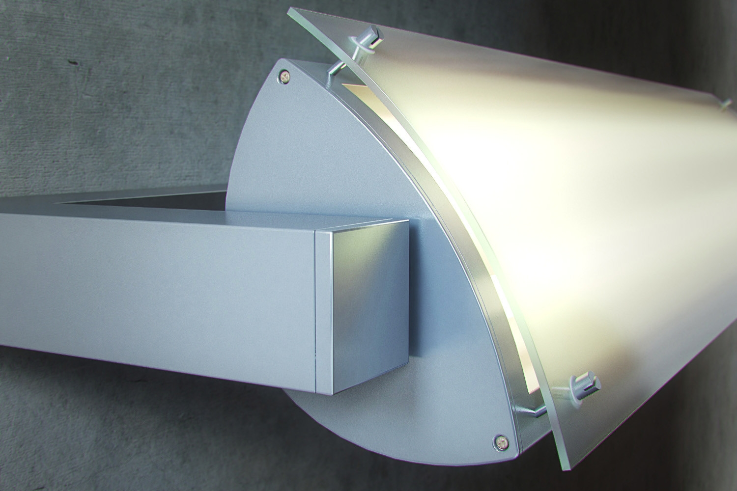 Height Of Wall Lights : Adjustable High Output T5 Line Wall Light