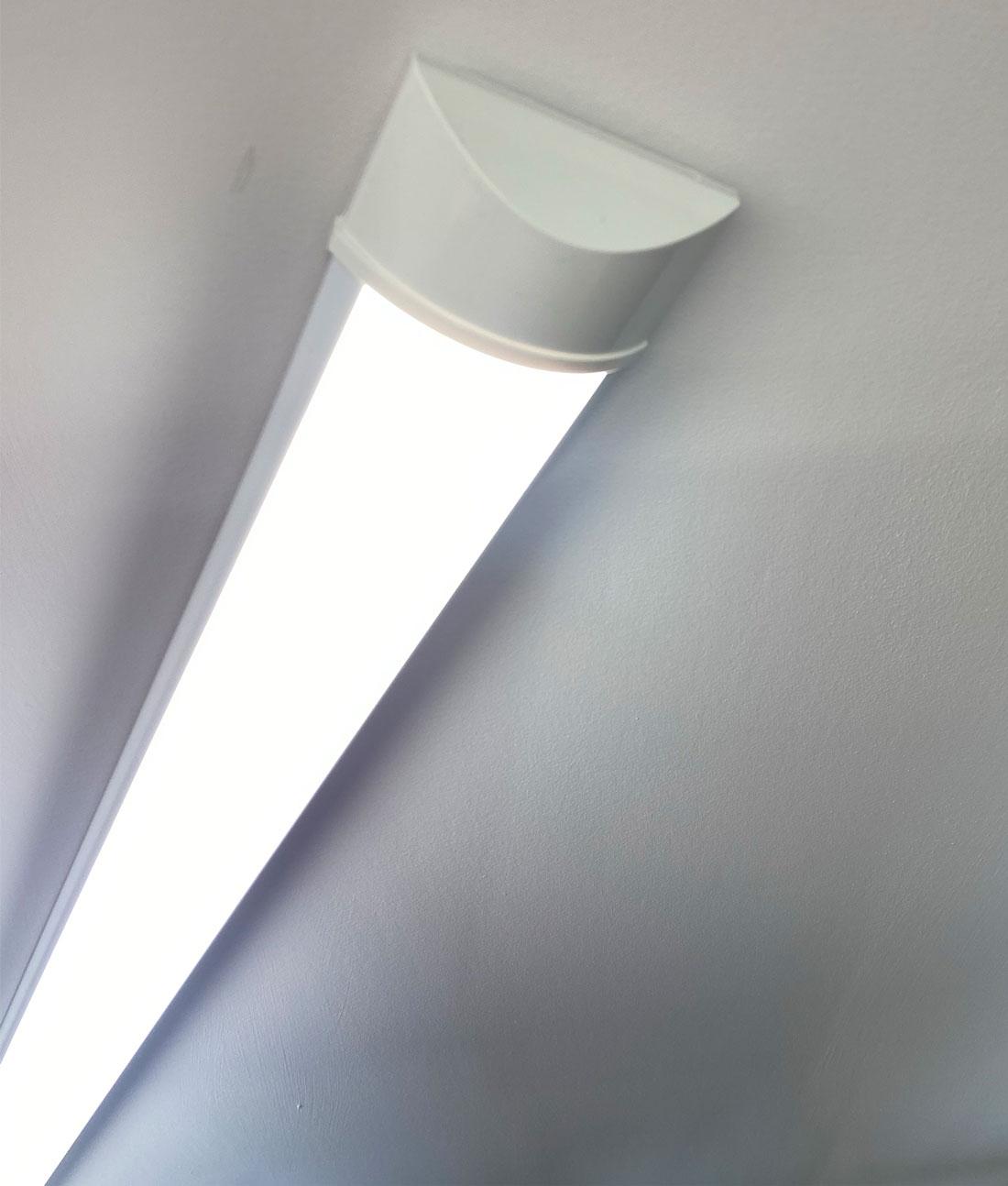 Modern Led Light For Kitchens Great Alternative To Older Fluorescent