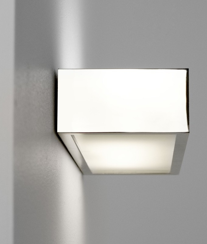 Rectangular bathroom over mirror light in four lengths for Bathroom lights over mirrors