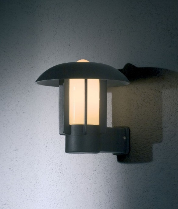 Stylish Modern Wall Lights : Modern Curvy Wall Lantern