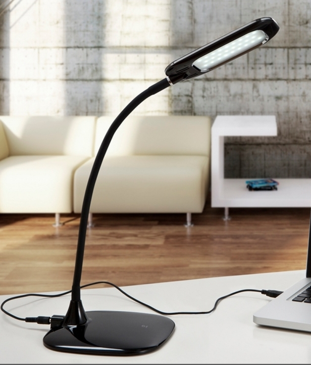 Led Table Lamp By Rechargeable Usb