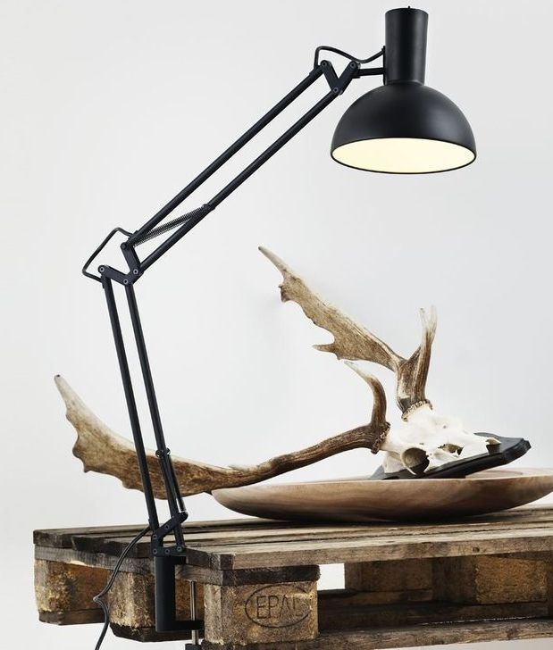 Desk Lamp Includes Clamp Table Amp Wall Fixture