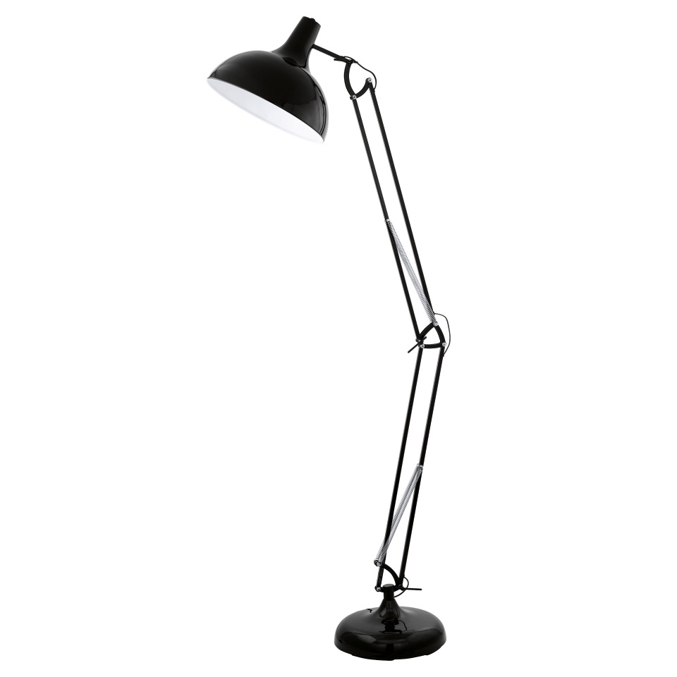 Adjustable floor lamp angle poise style hover to zoom aloadofball Image collections