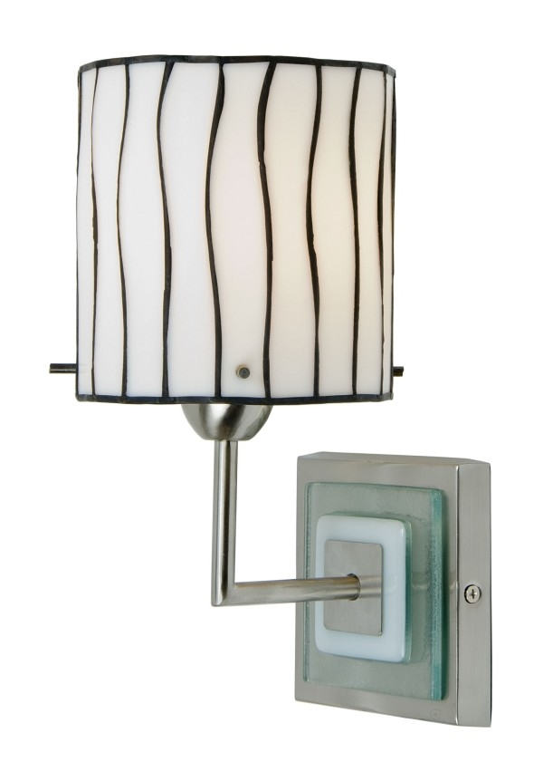 Tiffany Double Wall Lights : Modern Tiffany Wall Lights Black & White