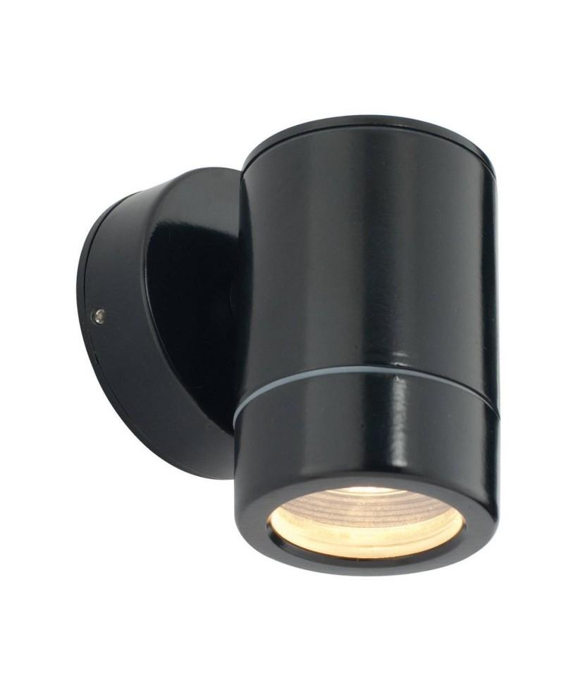 exterior wall downlight providing downward light