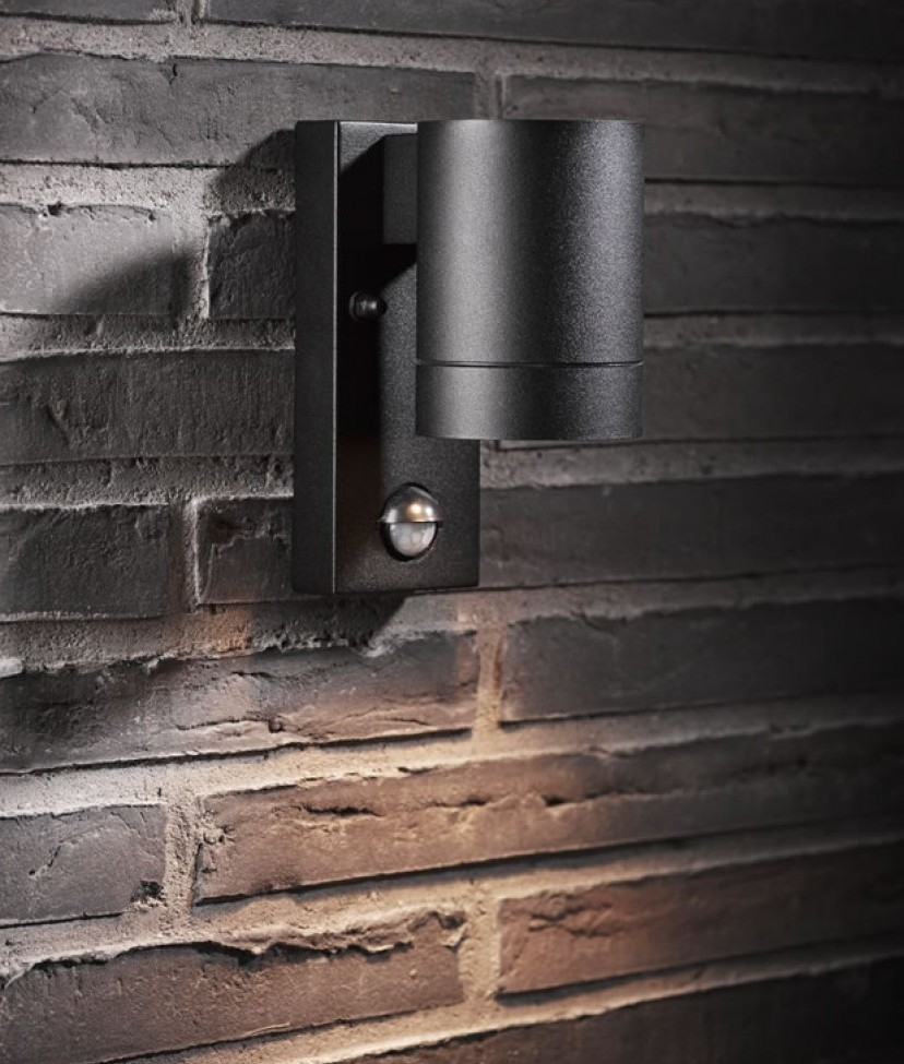 Captivating Exterior Down Light With PIR