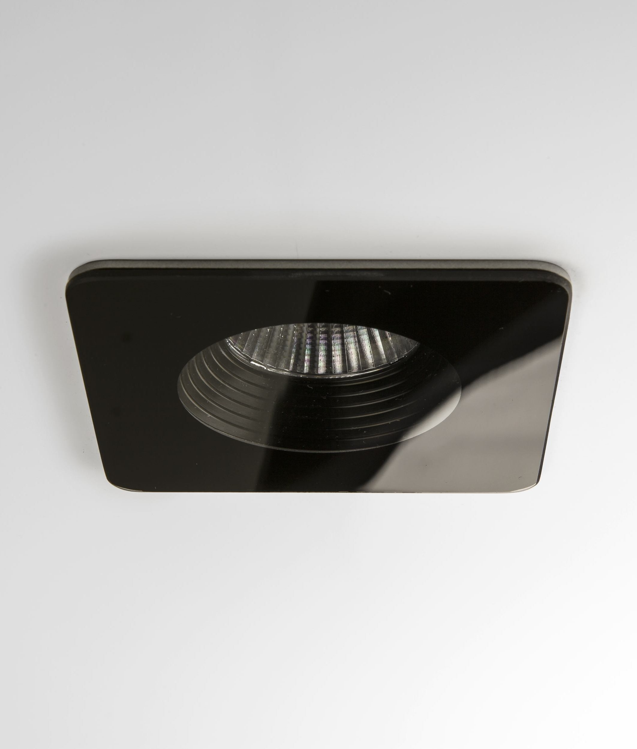 Square Led Fire Rated Glass Led Bathroom Downlight