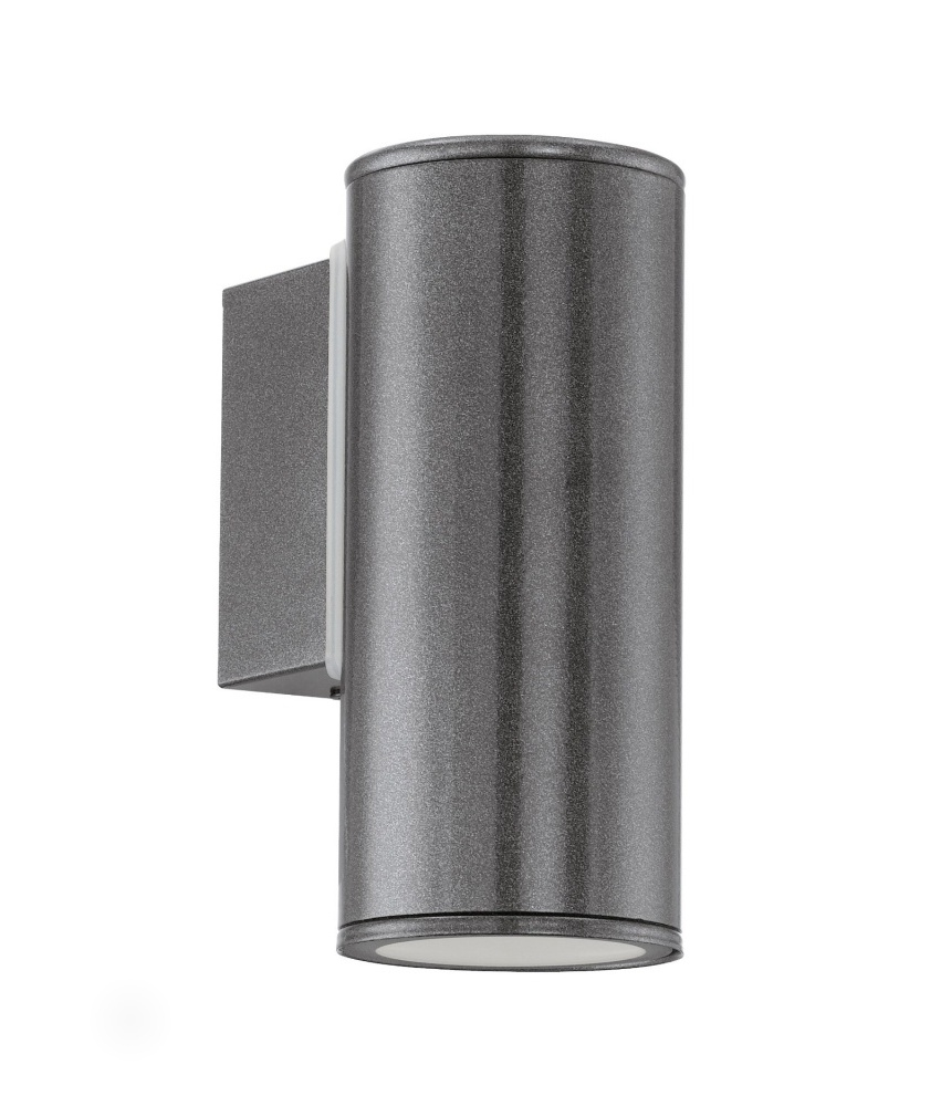 Exterior wall light for gu10 lamps for Applique exterieur up down