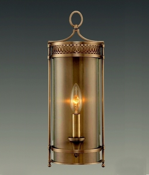 Georgian style wall light three finishes - Georgian style exterior lighting ...
