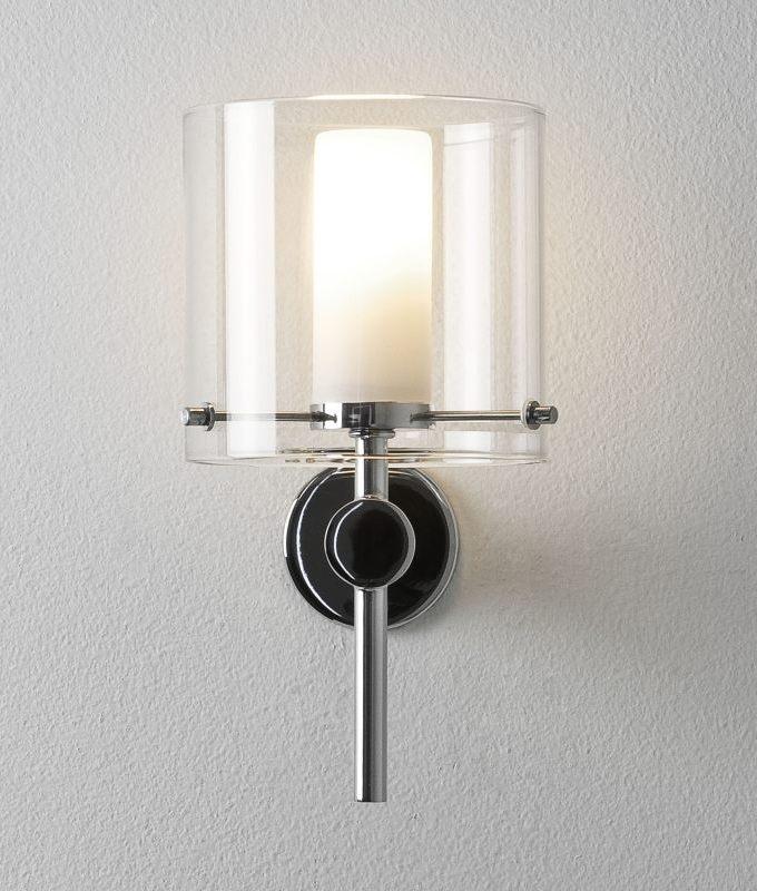 Stylish Dual Glass Wall Light