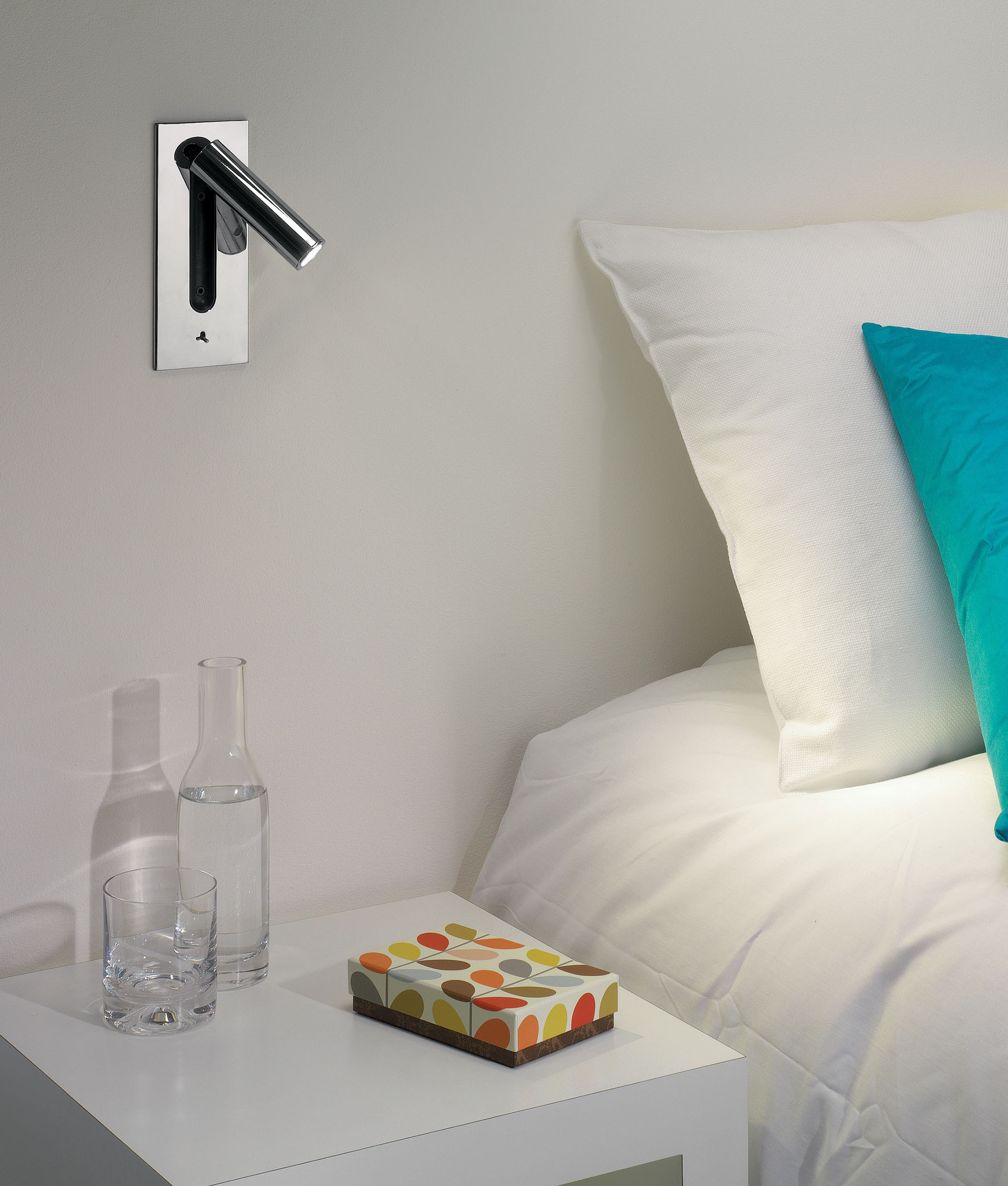 You Ll Love The Design Of This Led Wall Recessed Bedside Light