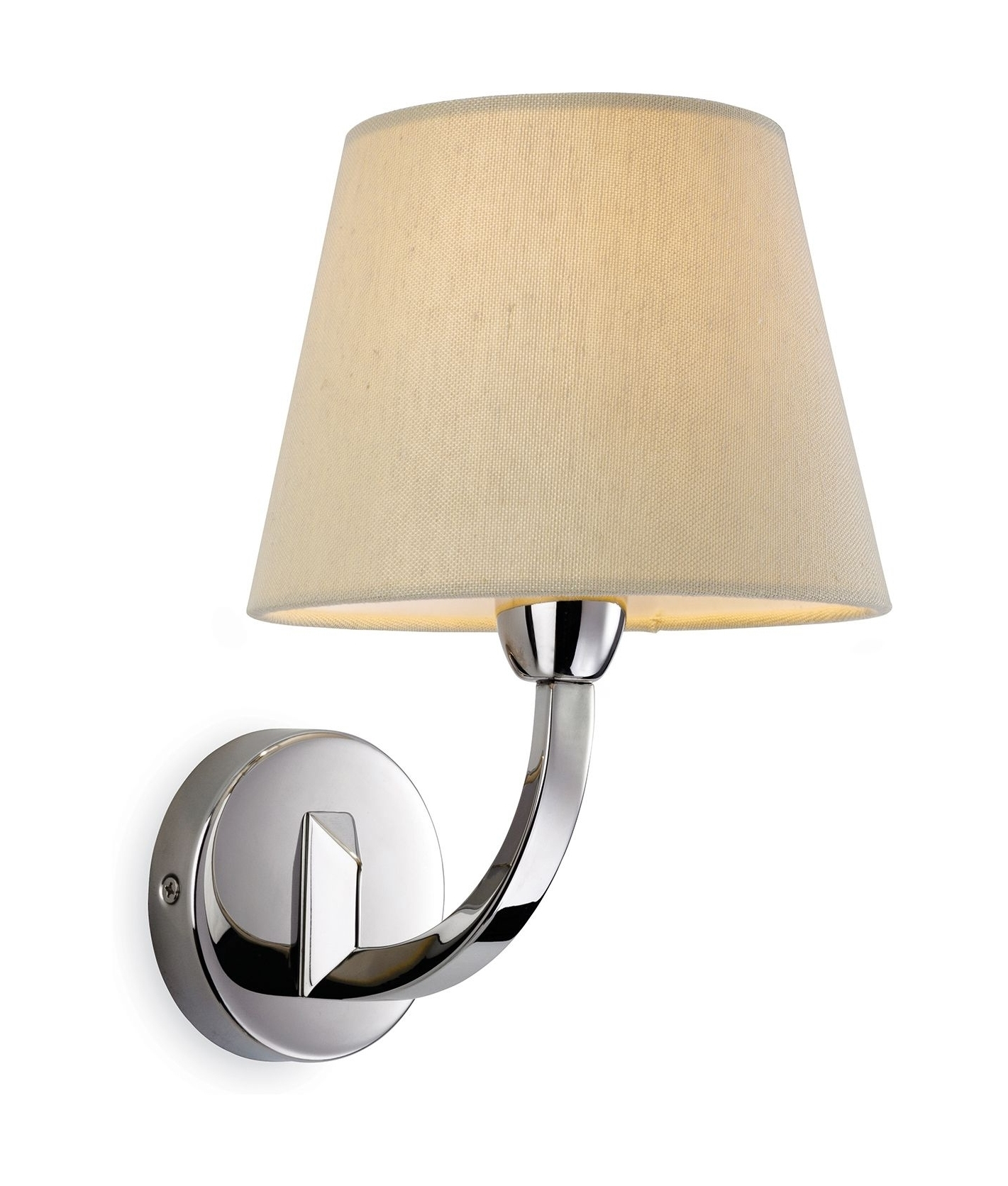 Funky Chrome Wall Lights : Chrome Single Arm Wall Light