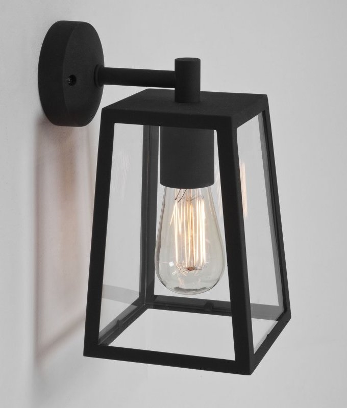 Contemporary 4 Paned Bracket Lantern Attractive Exterior