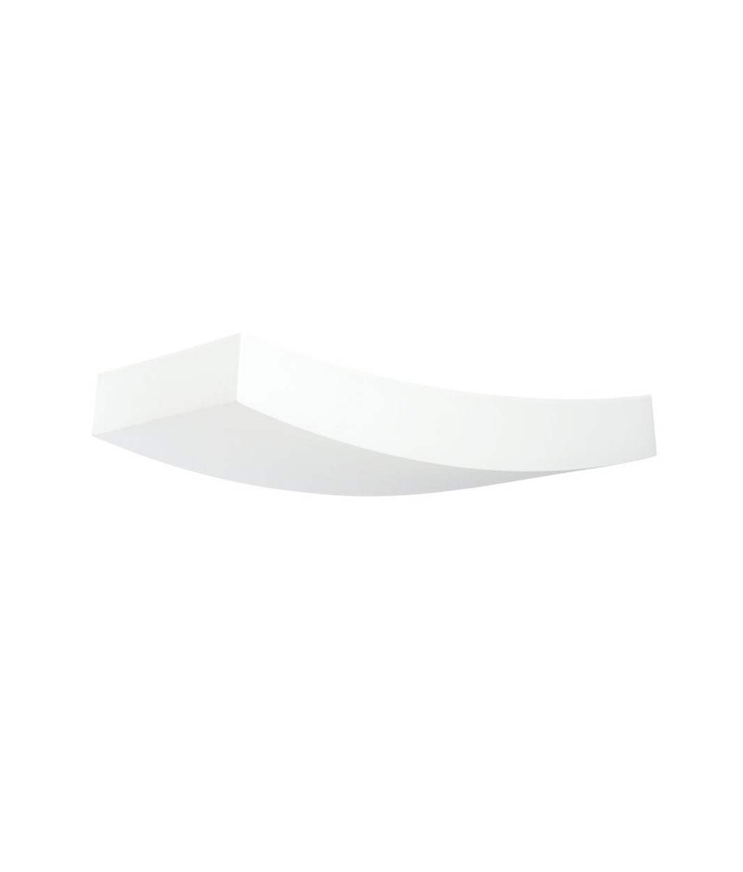 Curved Plaster Wall Lights : Curved Plaster Wall Light