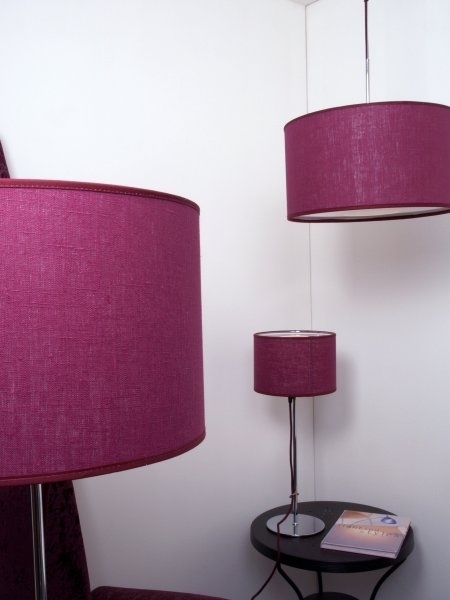 Pretty Posh Chrome Table Lamps From Belid Four Colours
