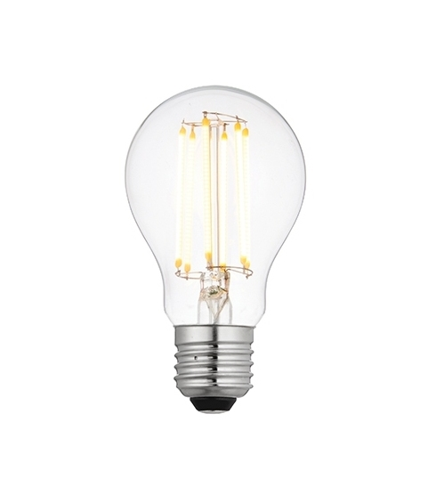 8w e27 dimmable led filament gls lamp