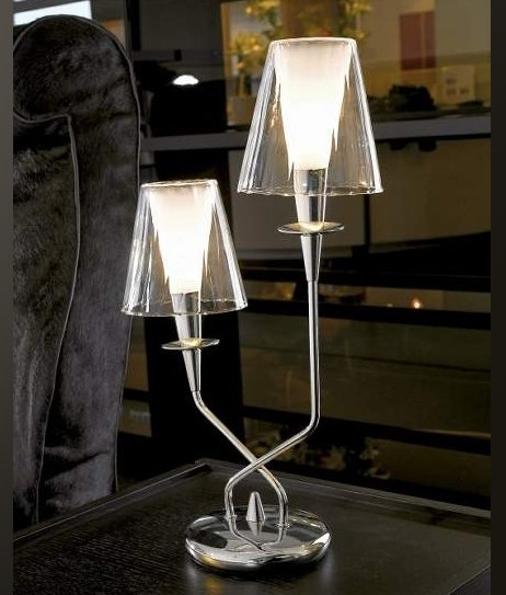 Classically Designed Table Lamp Double Lamp