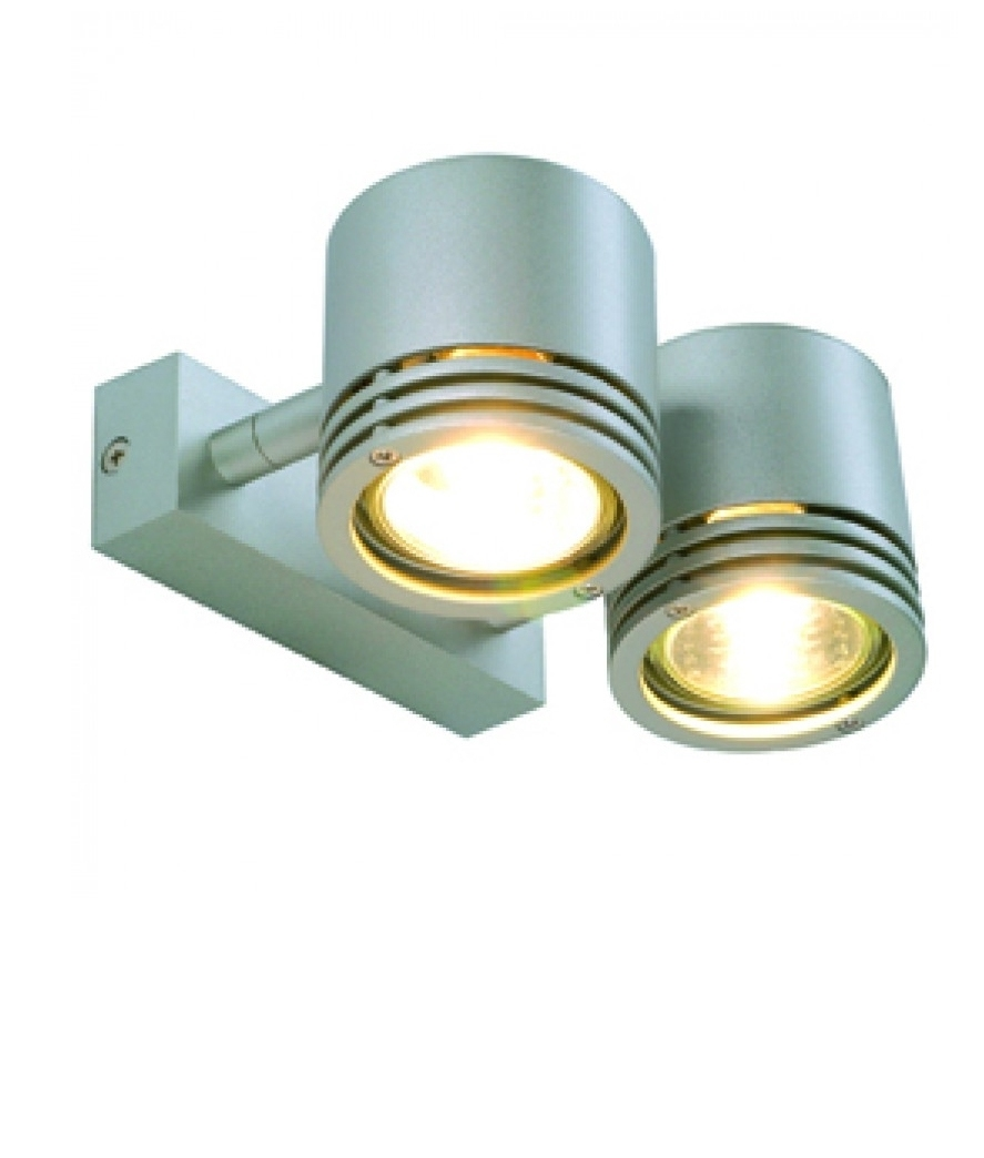 Wall Lights Adjustable : Adjustable Double Wall Light